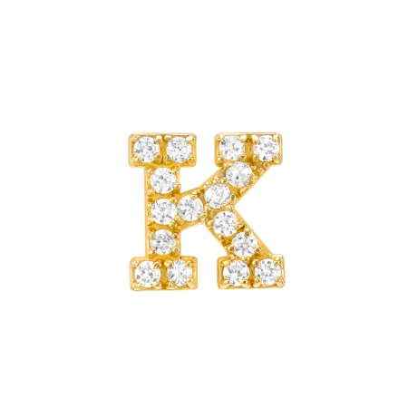 Diamond-Initial-Earring-Letter-K_No-Matchy-Matchy_Red-C-Jewels_14K_Yellow-Gold_E184Y